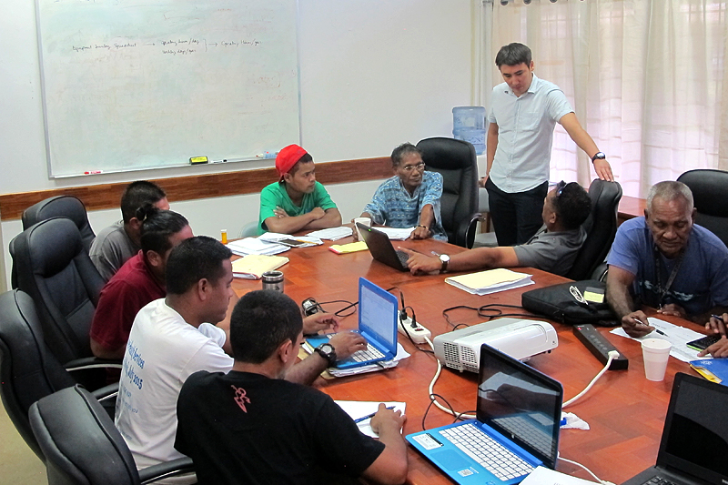 Energy Audits and Training program in the Federated States of Micronesia