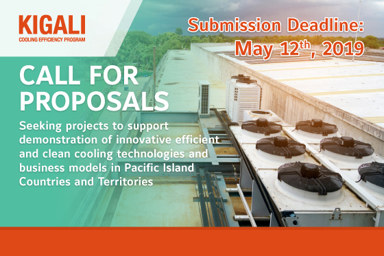 IIEC Opens Call for Proposals to Support Demonstration of Innovative Technologies and Business Models for Efficient and Clean Cooling in the Pacific