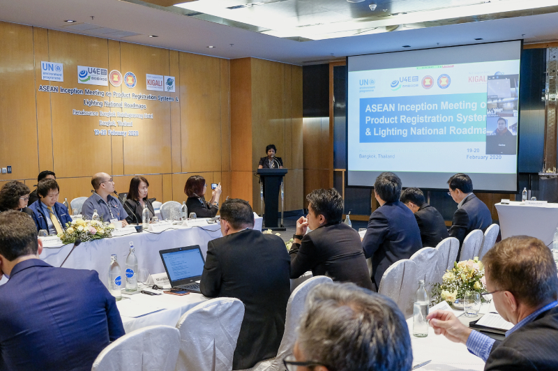 ASEAN Inception Meeting on Product Registration Systems & Lighting National Roadmaps