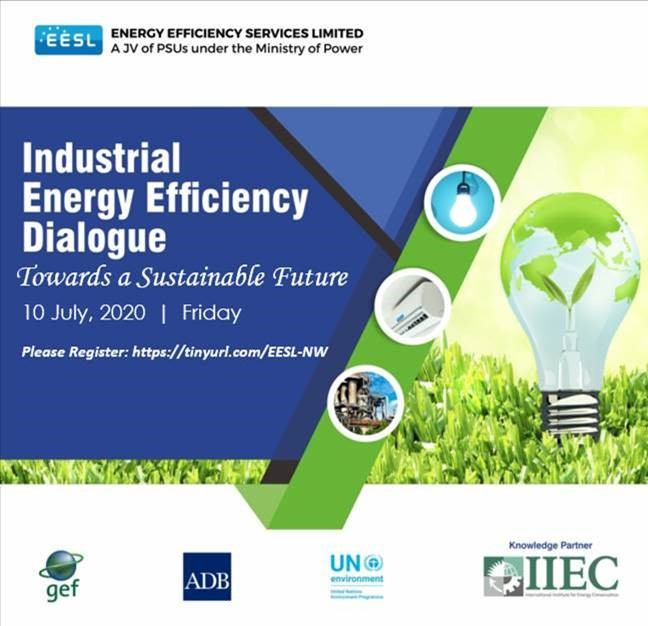 Please register for the Industrial Energy Efficiency Dialogue on 10th July 2020